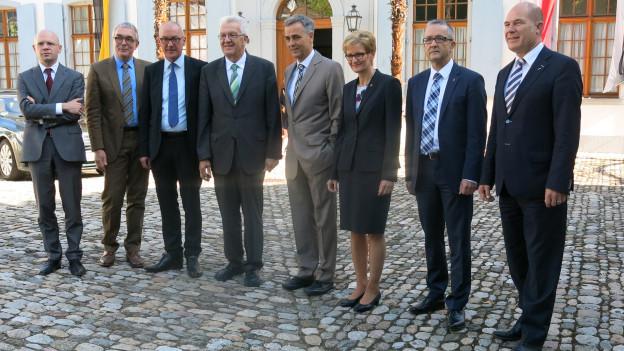 Regierungen mit Herrn Kretschmann