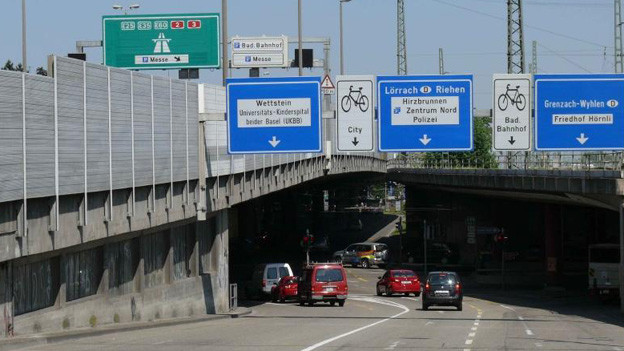 Osttangente Schwarzwaldbrücke