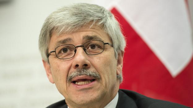 Carlo Conti trat wegen der Honorar-Affäre als Regierungsrat zurück.