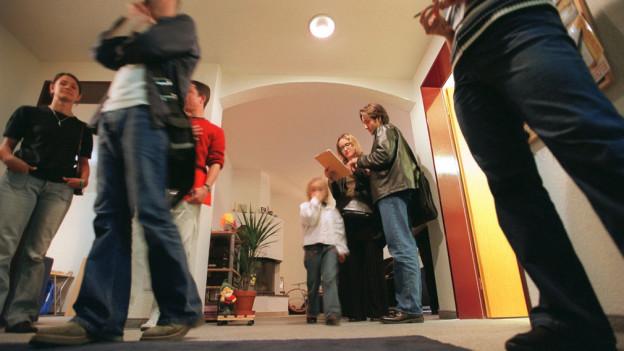 Günstige Mieten locken viele Wohnungssuchende an