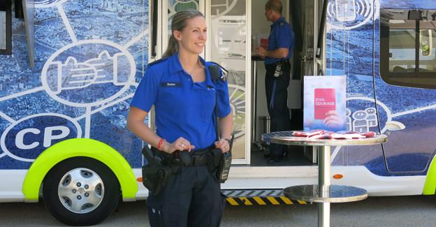 Die Kampagne der Basler Polizei