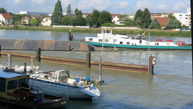 Das Schiffsunglück auf dem Rhein