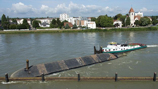 Unfall Rhein