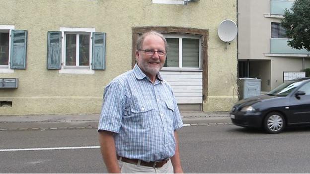 Der Grellinger Gemeindepräsident Hans-Peter Hänni