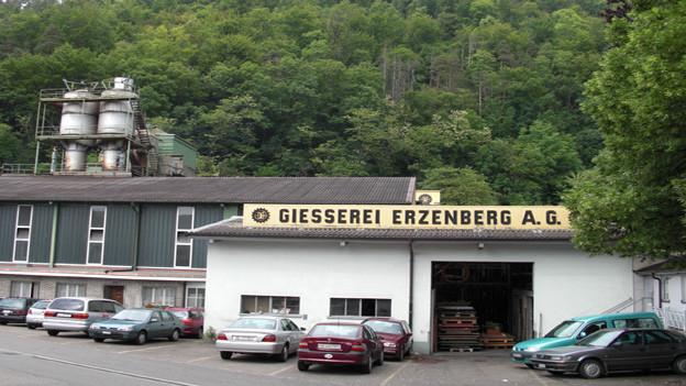 Seit 1840 produziert die Giesserei Erzenberg AG in Liestal.