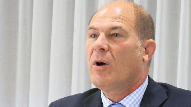 Der Baselbieter Finanzdirektor Anton Lauber
