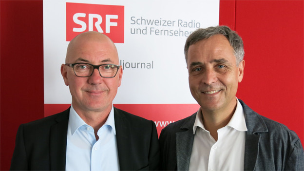 Isaac Reber und Guy Morin
