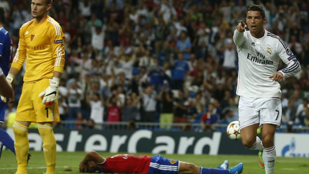 Ronaldo jubelt