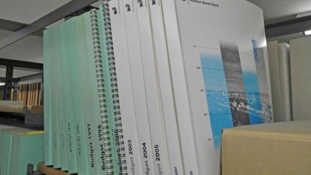 Budgetbücher Basel