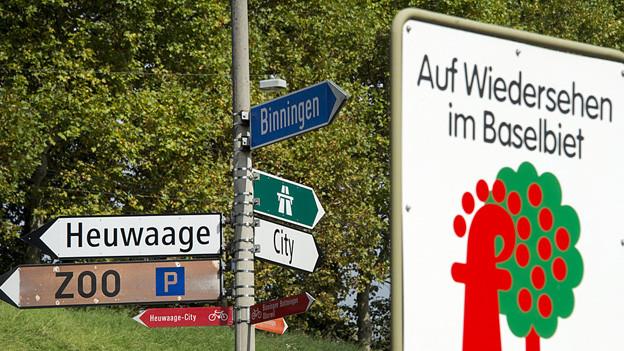 Die Zusammenarbeit zwischen den beiden Basel