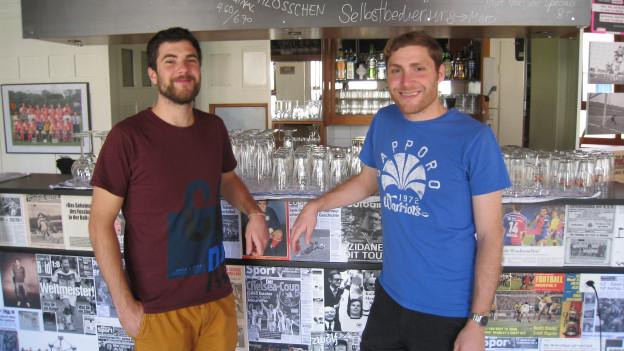 Raphael und Benedikt Pfister, die Gründer von «Didi Offensiv»