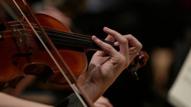 Die Geige im Orchester