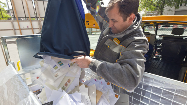 Post zwingt Gemeinden zu Couverts