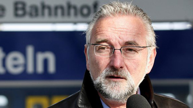 Gemeindepräsident Beat Stingelin will bei der ARA Rhein handel