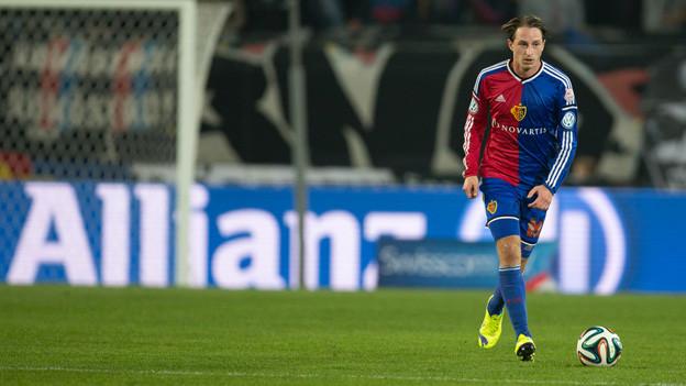 Luca Zuffi lieferte die beiden Pässe für die beiden FCB-Tore.