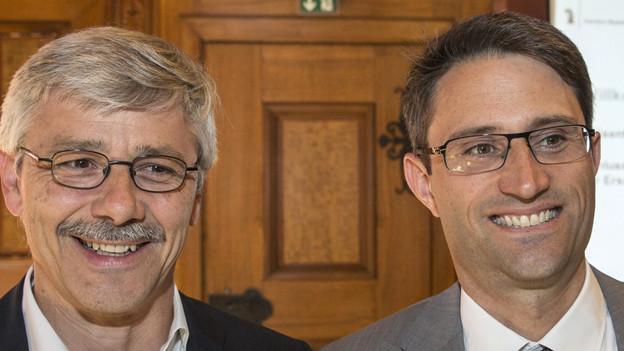 Carlo Conti und Lukas Engelberger