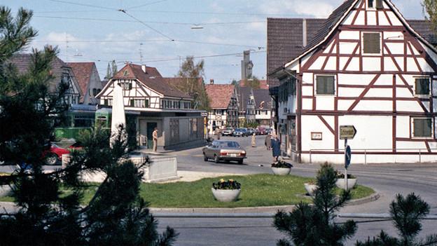 Dorfidylle in Allschwil