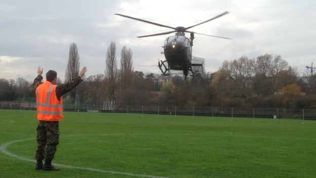 Während OSZE-Kongress ist Militär in Basel