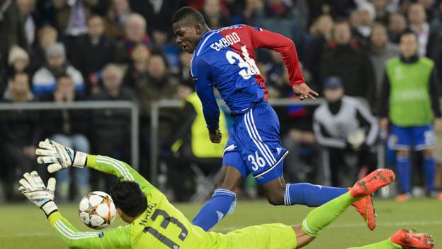 Real Goali stoppt Embolo