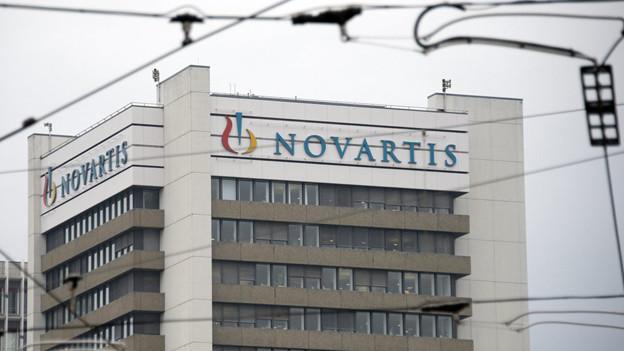 Novartis Firmengebäude in Basel