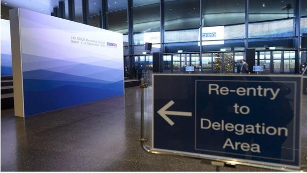 Kongresszentrum Basel hat sich als OSZE-Gastgeber bewährt.