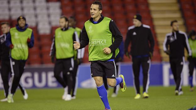 FC Basel trainiert in Liverpool vor dem grossen Spiel