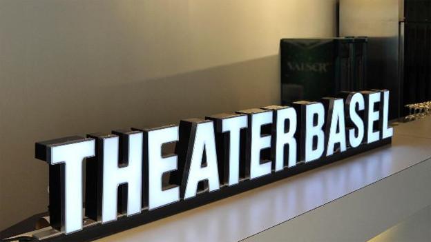 Schriftzug Theater Basel