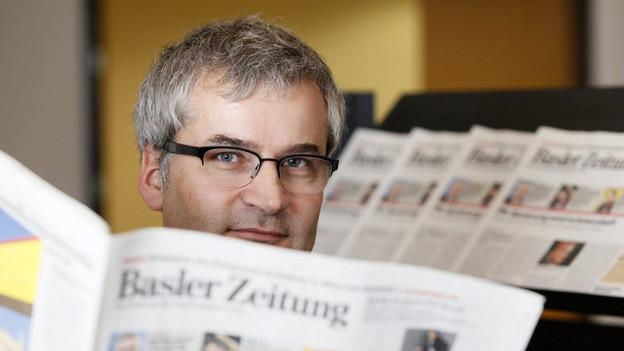 Markus Somm erhält scharfe Kritik vom Presserat.