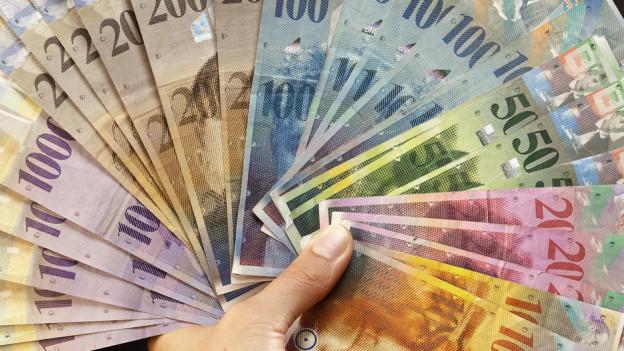 Mehr Geld für die Kantone von der SNB?