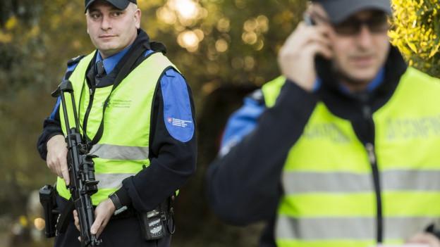 Grenzwächter sollen die Einreise von Kriminaltouristen verhindern.
