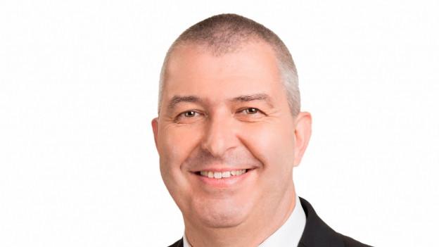 Matthias Imhof (BDP) im Wahlzmorge