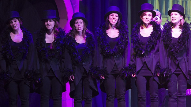 A-Cappella-Gesang mit «Six Chicks» am Charivari.