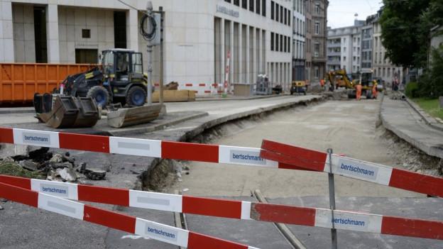Baustellen Basel
