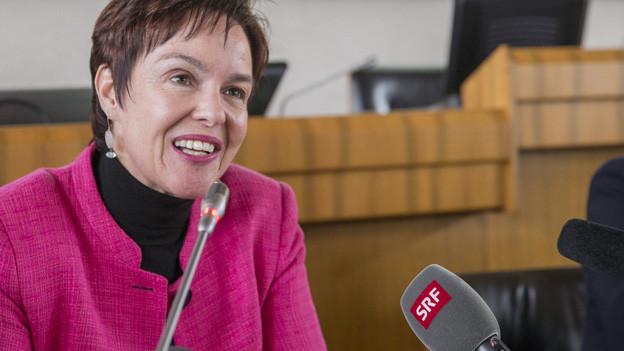 Monica Gschwind (FDP) verdrängt die SP in die Opposition.