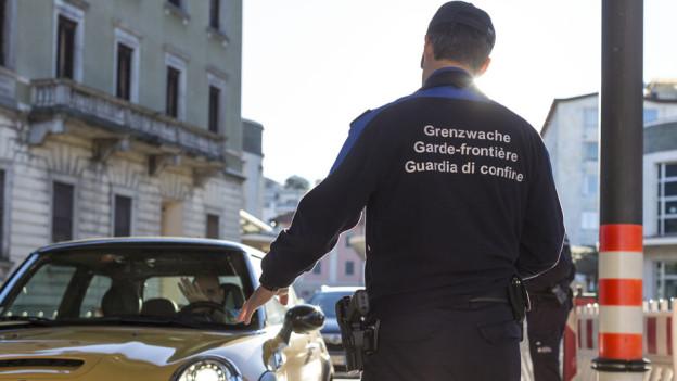 Grenzwächter werden vermehrt angegriffen
