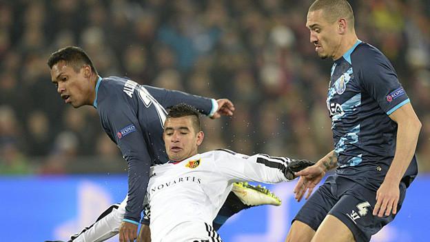FC Basel spielt 1:1 gegen Porto