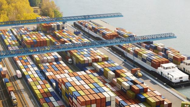 Modellbild Neuer Hafen