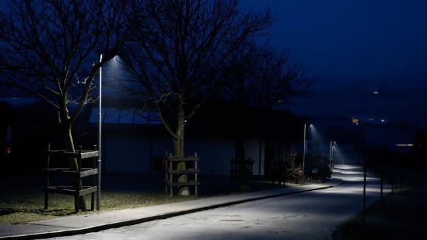Strassenbeleuchtung in Landquart