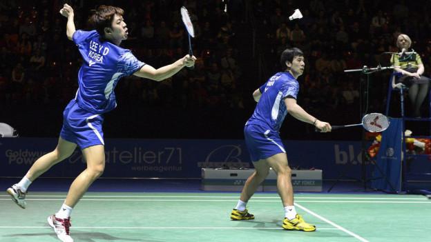 Koreaner fehlen an den Badminton Swiss Open 15.