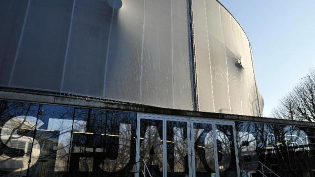 Eingang zur St.Jakob-Arena