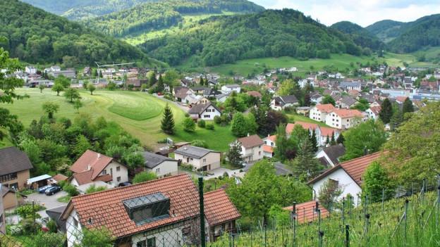 Ausblick auf Oberdorf