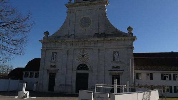 Der Eingang des Klosters Mariastein