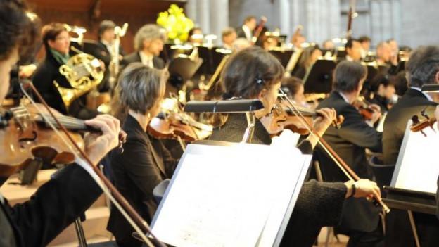 Musiker im Einsatz