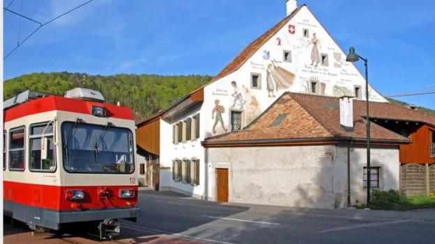 Waldenburgerbahn in Oberdorf
