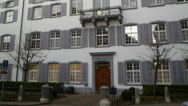 Fassade des Regierungsgebäudes in Liestal.