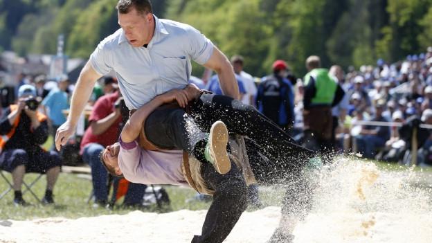 Baselland will das eidegnössische Schwingfest zu sich holen