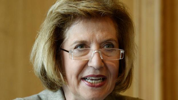 Andrea Schenker-Wicki ist neue Uni-Rektorin