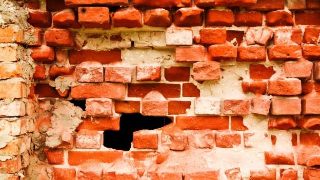 Eine Mauer (Symbolbild)
