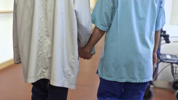 Sparen bei der neuen Pflegefinanzierung