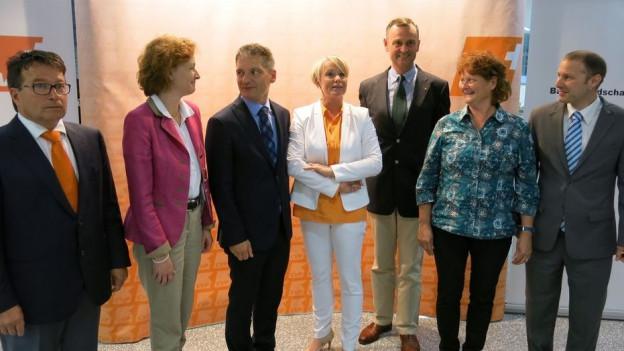 Die Kandidaten der CVP Baselland